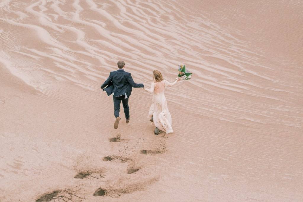 adventure elopement in Colorado by Malachi at Shell Creek Photography