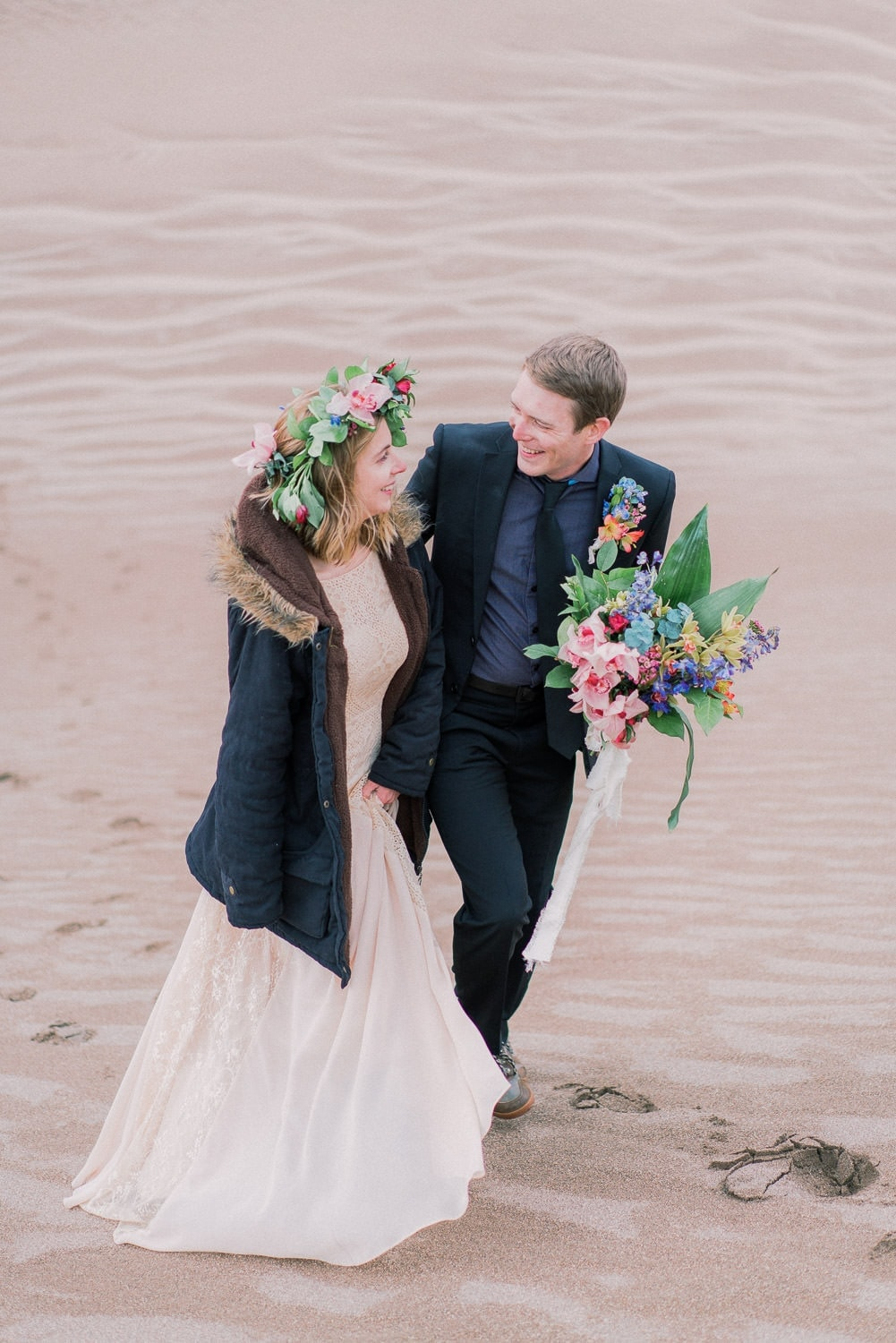 Great Sand Dunes National Park elopement in Colorado by Malachi at Shell Creek Photography