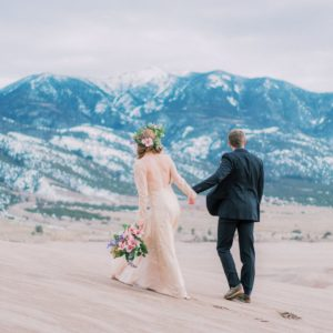adventure elopement photographer in Colorado | Malachi Lewis at Shell Creek Photography