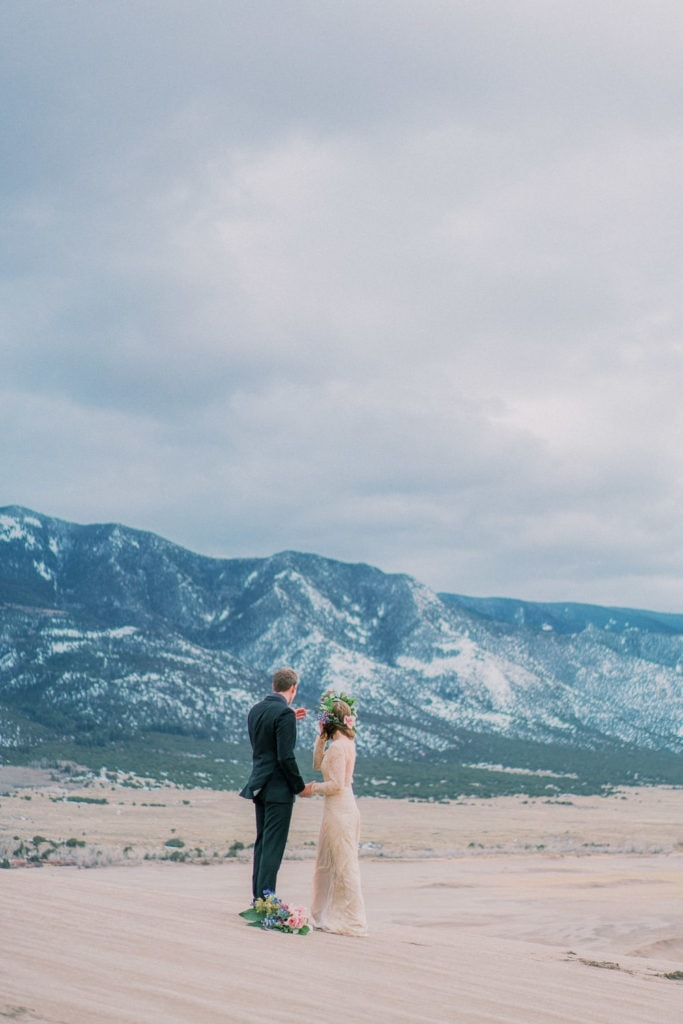 Colorado elopement at the Great Sand Dunes