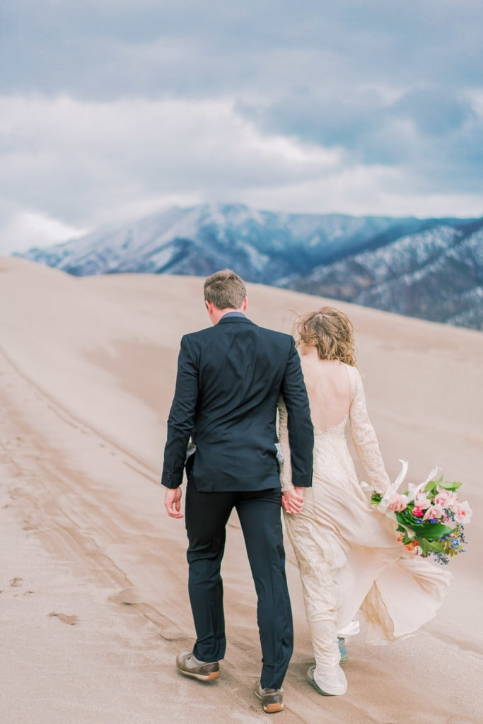 Great Sand Dunes elopement in Colorado