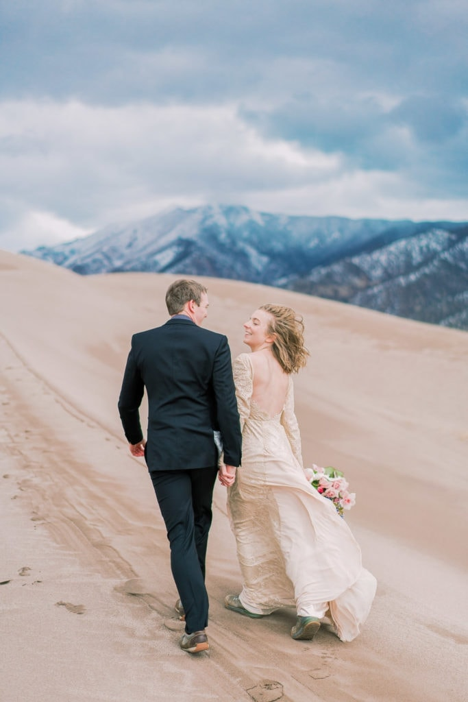 Colorado Springs elopement in the Great Sand Dunes