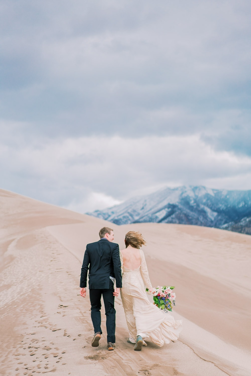 Sand Dunes elopement in Colorado | by Malachi at Shell Creek Photography