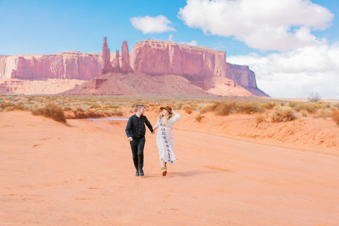 elopement in Monument Valley Arizona | by Malachi at Shell Creek Photography