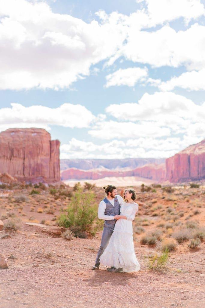 destination elopement in Moab, Utah