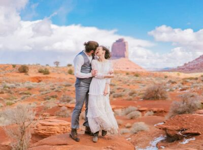 Adventure Elopement in Monument Valley, Arizona