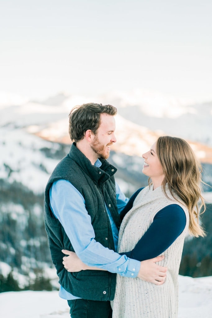 Nate & Kelsey | adventure session in Colorado