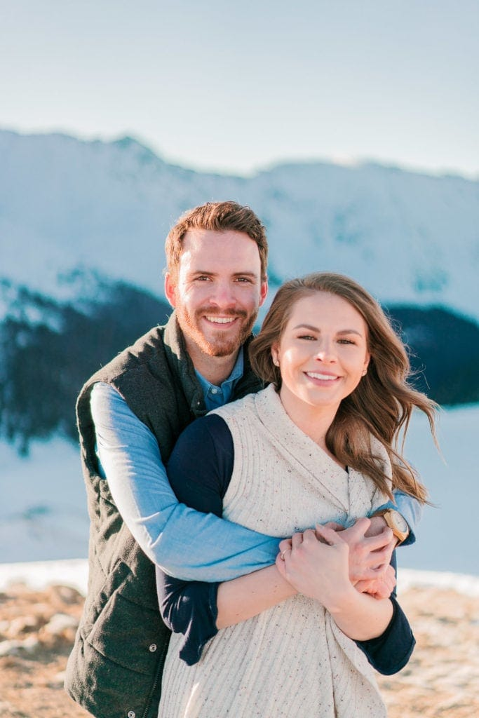 Nate & Kelsey | engagements at Loveland Pass in the Rocky Mountains