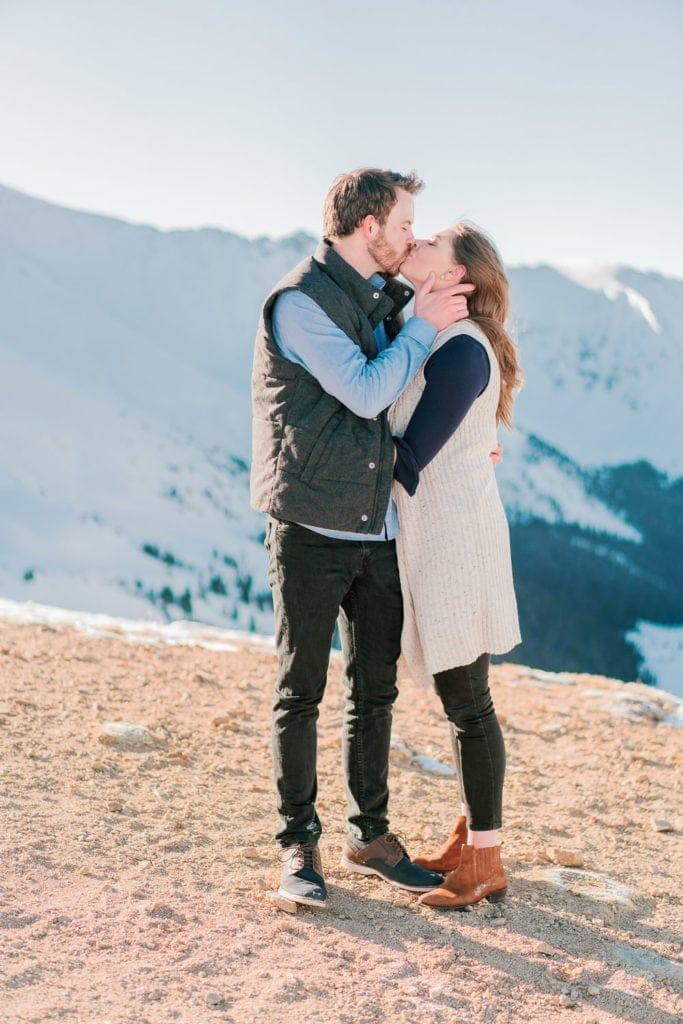 Nate & Kelsey | engagement session in Telluride, CO