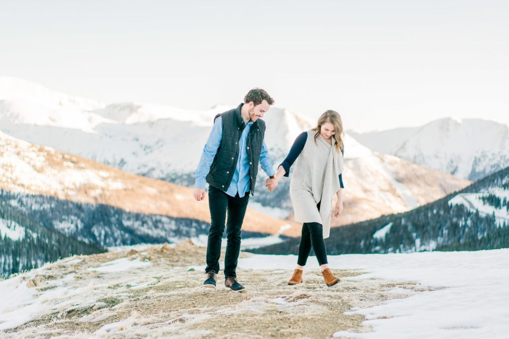 Nate & Kelsey | Colorado engagement photography