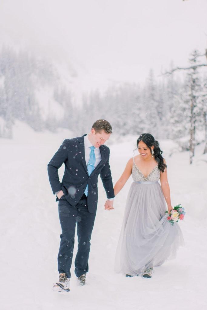 elopement photographer in Rocky Mountain National Park Colorado