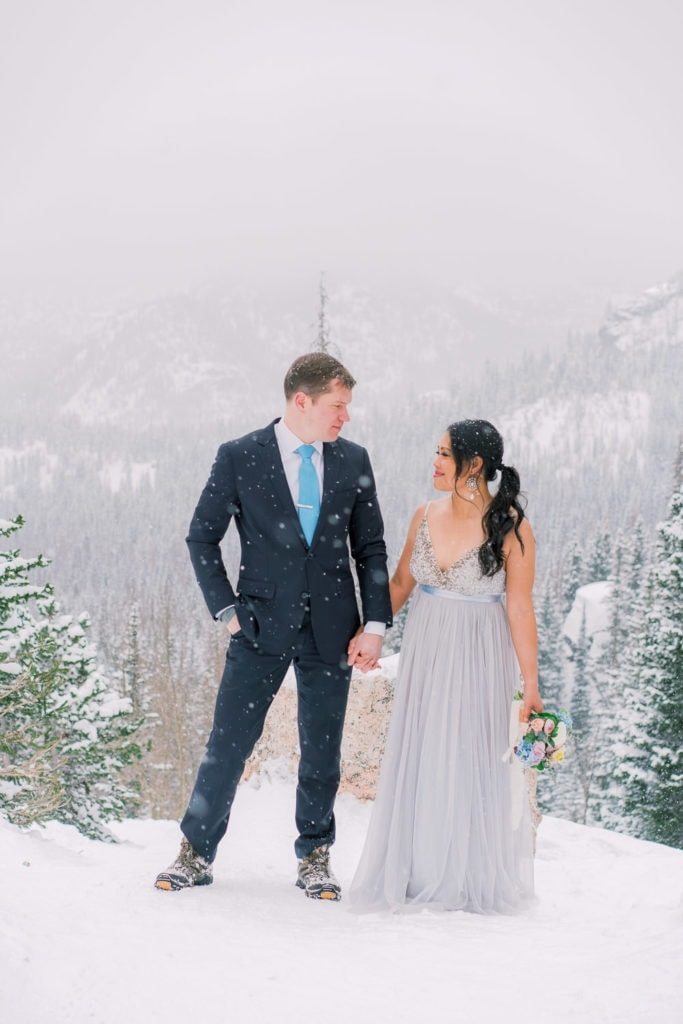 elopement in the mountains of Colorado