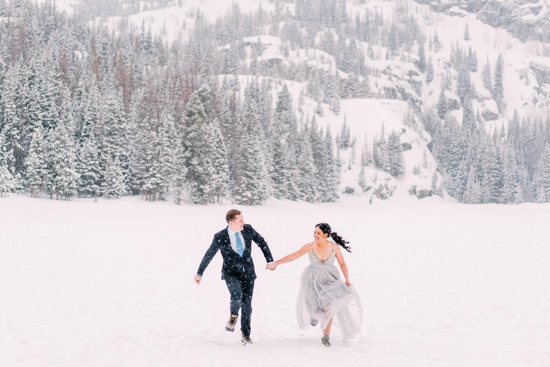 elopement photographer in Colorado | Rocky Mountain National Park elopement