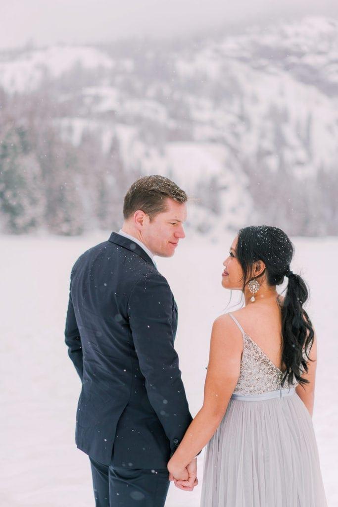 Colorado elopement in the mountains of Colorado