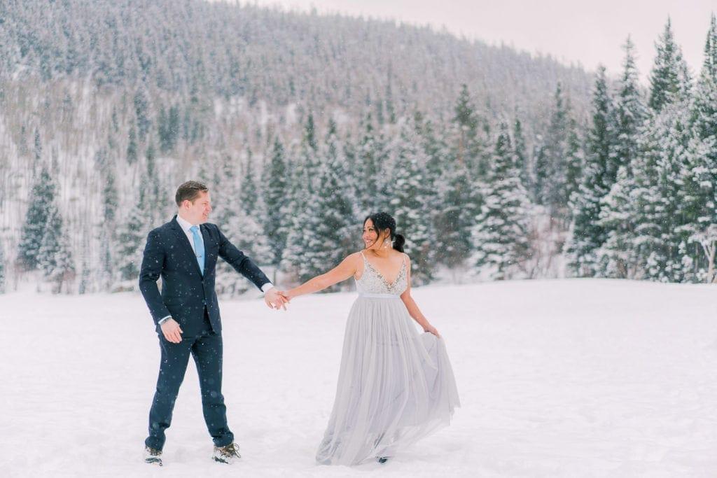 Colorado elopement in Estes Park
