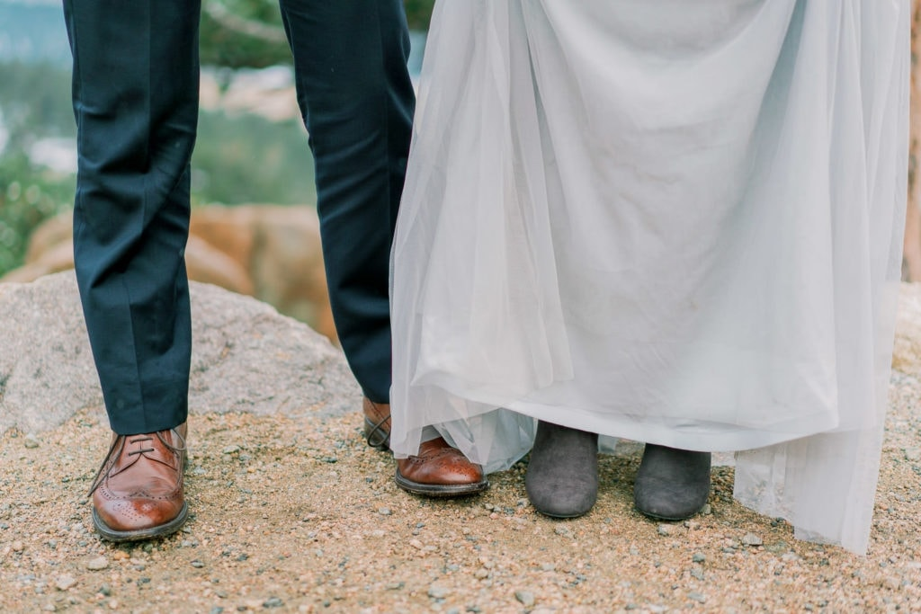 adventure elopement at 3M curve in Colorado