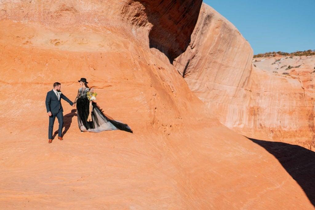 Moab, Utah adventure wedding