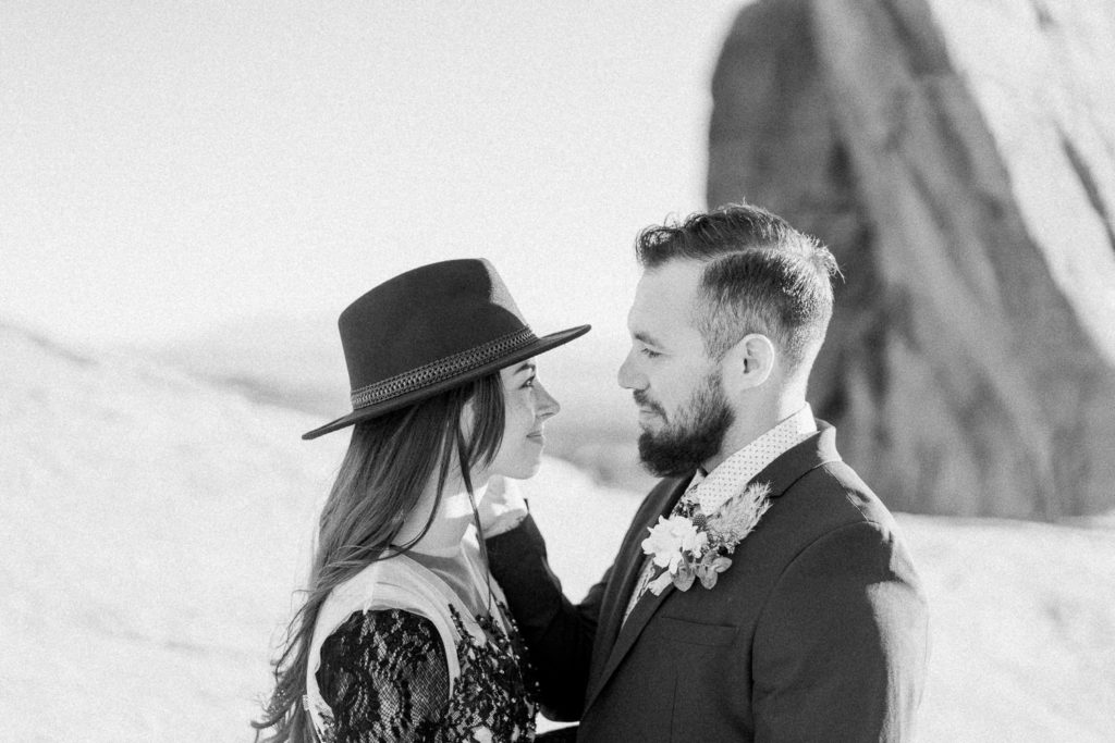 romantic elopement photography in Utah