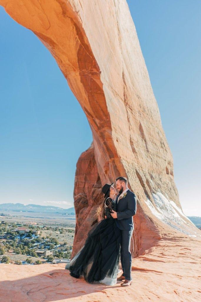 Wilson Arch in Moab, Utah