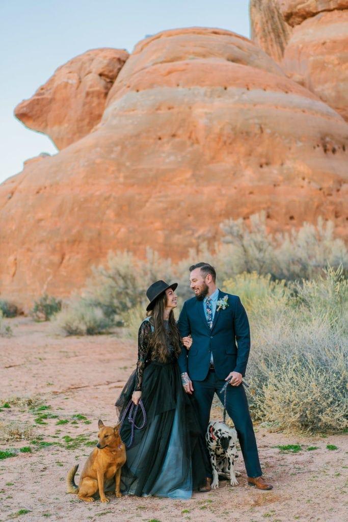 Utah elopement in Moab, Utah