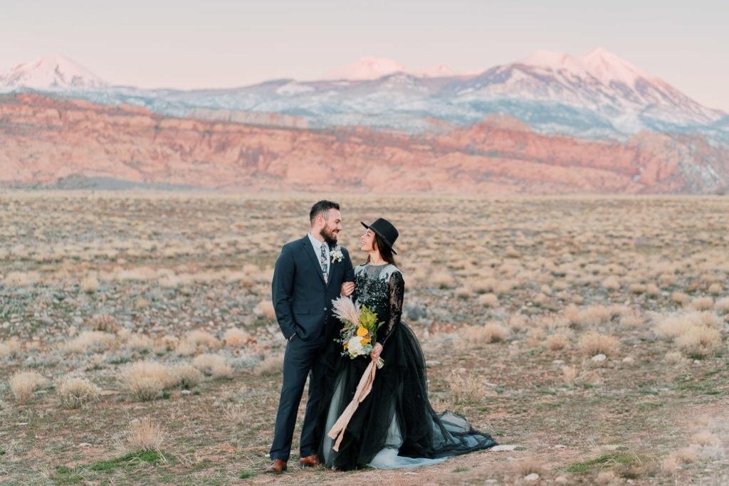 mountains in Moab, Utah