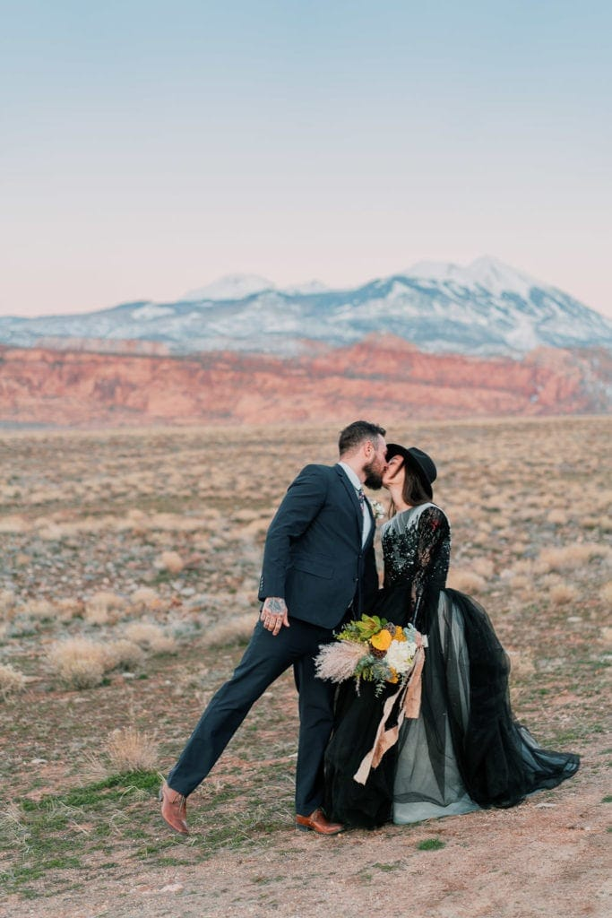 elopement in Moab
