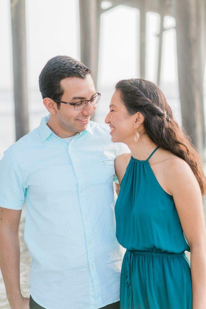 engagement photography at Daytona Beach in Florida