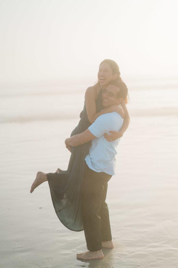 Florida elopement photography at Daytona Beach near Orlando