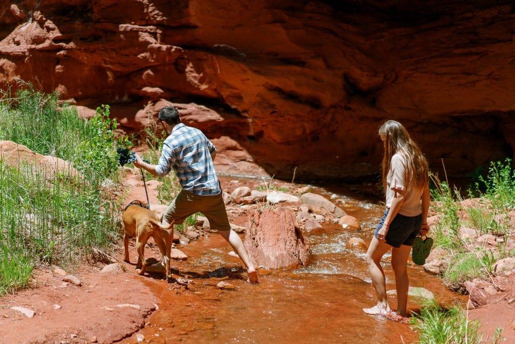adventurous photographer in Moab, Utah