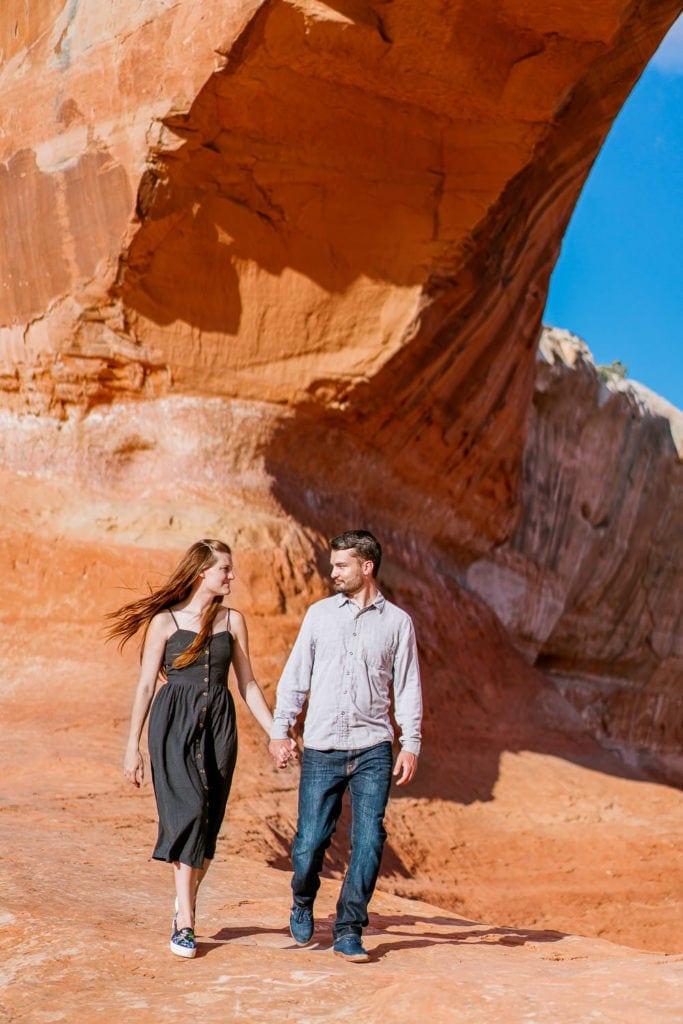 Moab engagement session