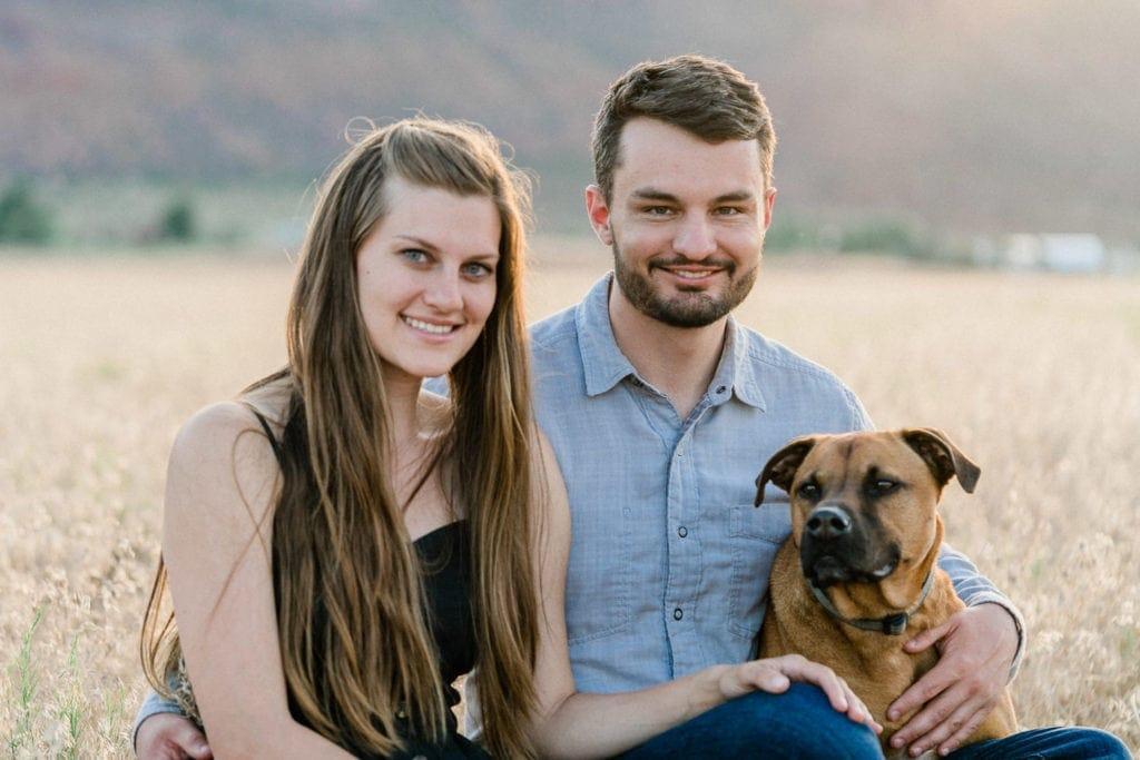 Jon & Madeline   engagement photographer in Moab, UT