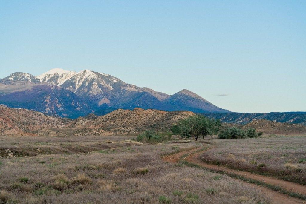 Manti-La Sal Mountains near Moab, UT