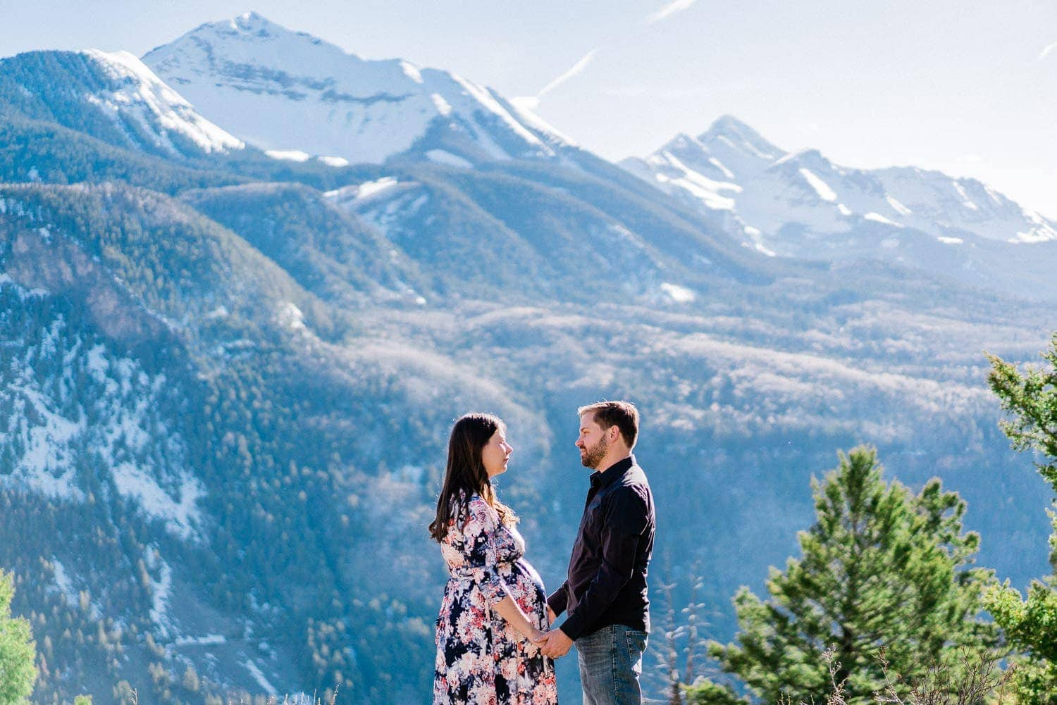 couples photography in the mountains of Telluride, CO