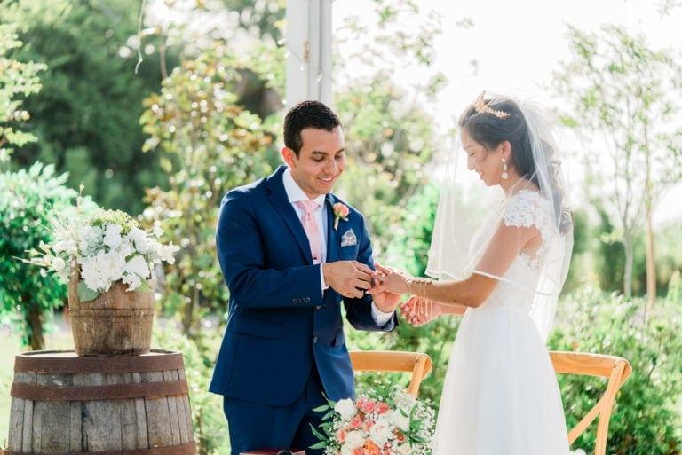 Orlando, Florida Outdoor Wedding at Ever After Peach Barn