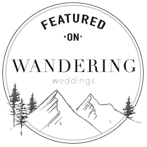 Shell Creek Photography featured on Wandering Weddings blog for elopement photography