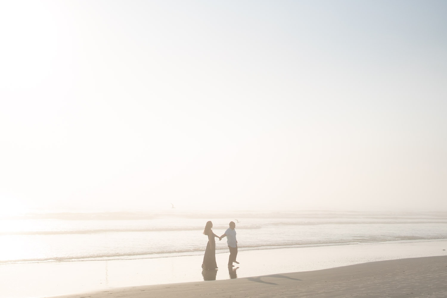 elopement on the beach in Florida at sunrise