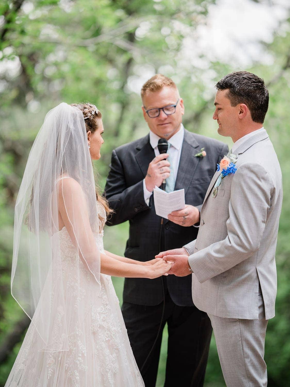 Outdoor Colorado Wedding at the Pines at Genesee