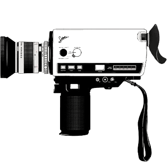 super 8mm camera at Shell Creek Photography
