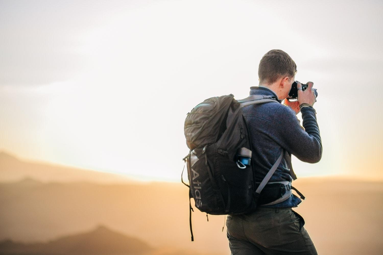 Malachi Lewis at Shell Creek Photography in Moab, Utah