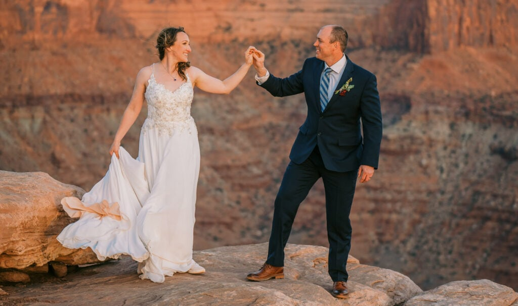 Couple shares their story of why they wish they eloped.