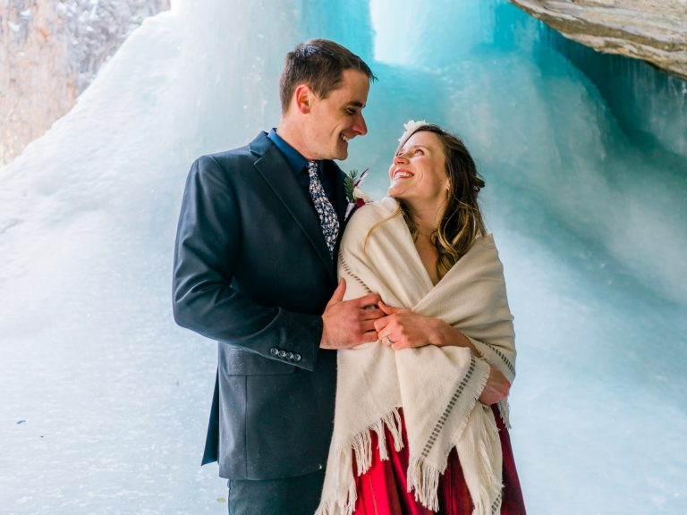 Elopement Style Anniversary Session Near Glenwood Springs, CO