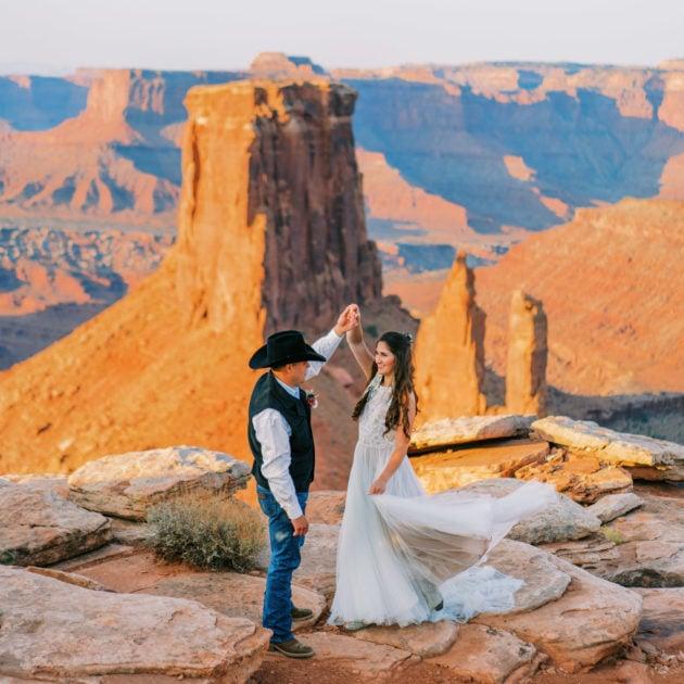 Adventure Elopement in Moab, Utah