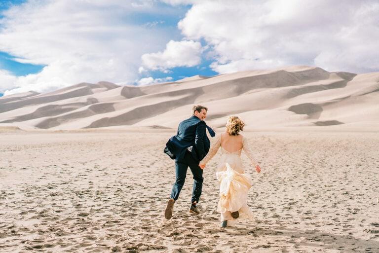 Great Sand Dunes National Park Adventure Elopement in Colorado