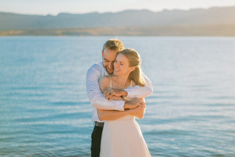 Nevada Elopement at Lake Mead & Valley of Fire State Park