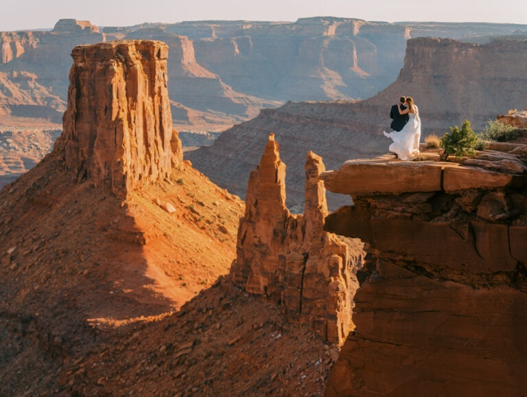 All Day Adventurous Elopement in Moab, Utah